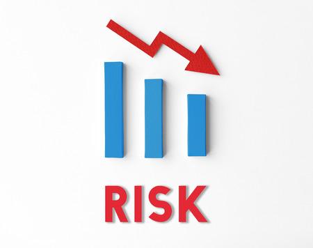 Recesión Concepto Fracaso Financial Statistics Foto de archivo - 69618664