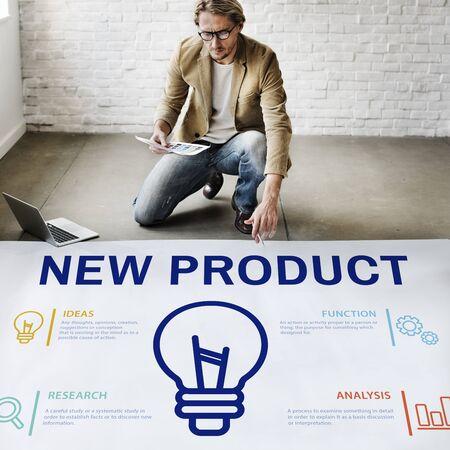Nieuw product Commerce Launch Promotion Concept