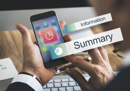 perfomance: Data Information Analytics Perfomance Concept