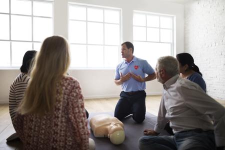 심폐 소생술 응급 처치 교육 개념