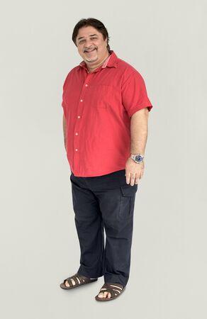 cuerpo entero: People Man Full Body Studio Shoot Concept