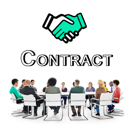 entrepreneurship: Trust Handshake Partnership Coooperation Graphic Concept