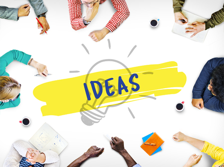 learning new skills: Ideas Creative Inspiration Bulb Concept
