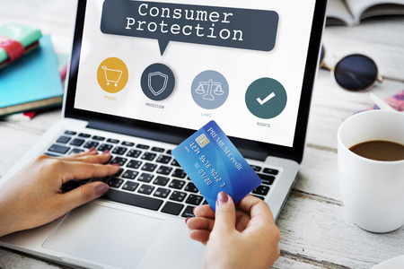 Ochrona praw konsumentów Rozporządzenie Concept Zdjęcie Seryjne