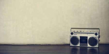 shortwave: Stereo Media Equipment Radio Concept