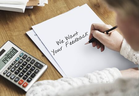 enquiry: Contact Us Feedback Customer Service Response Concept