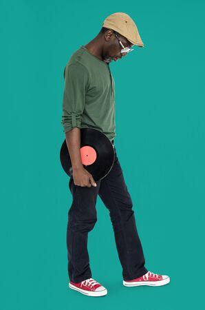 cuerpo entero: Concepto tira a gente hombre cuerpo completo Estudio