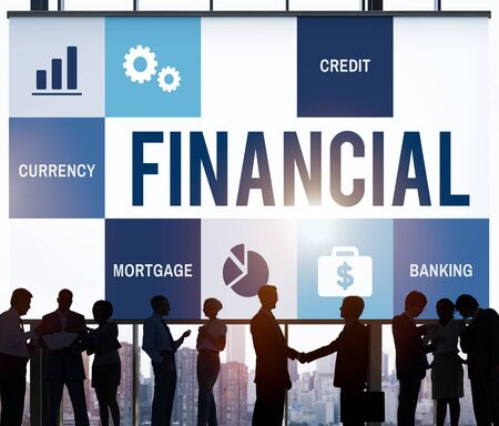 finance concept: Economy Trade Accounting Finance Concept