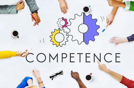 Performance Skills Cog Icon Concept