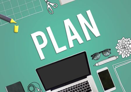 Plan Planning Project Business Concept Stock Photo