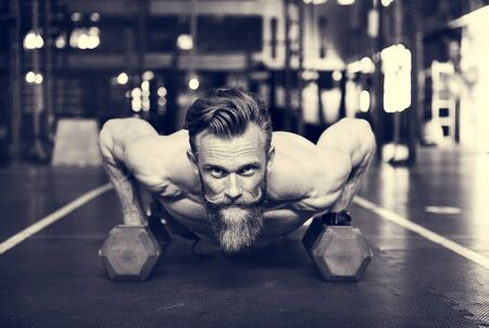buff: Active People Sport Workout Concept