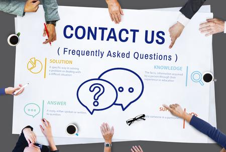 faq's: FAQs Customer Service Icon Concept Stock Photo