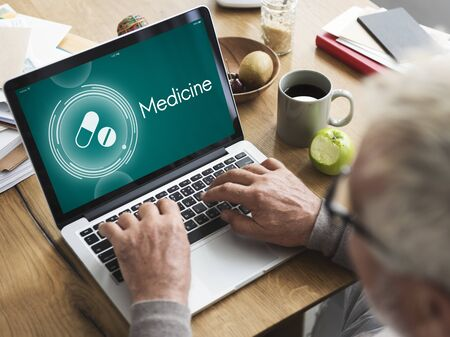 healthcare and medicine: Medicine Drugs Reminder Healthcare Graphic Concept
