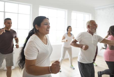 Diversity People Exercise Class Relax Concept Фото со стока - 71099276