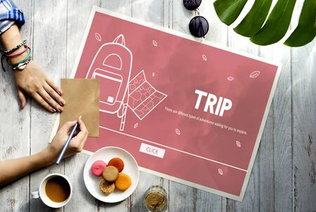adventure holiday: Vacation Trip Adventure Holiday Concept