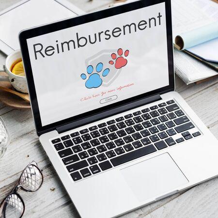 Insurance Coverage Mix Reimbursement Protection Concept Stock Photo