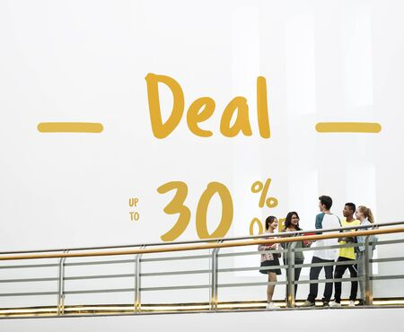 availability: Discount Promotion Clearance Commercial Deal Concept