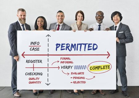 affirmed: Affirmed Authorized Certified Guaranteed Concept