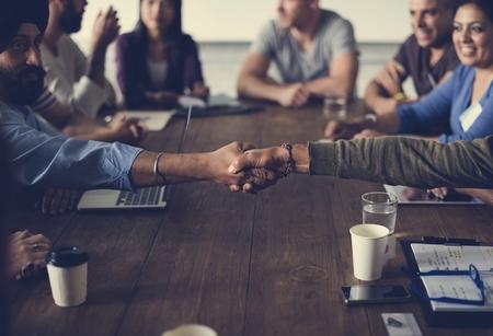 Menschen Meeting Seminar Bürokonzept