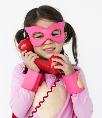 unafraid: Superhero Girl Bold Brave Female Idol Concept