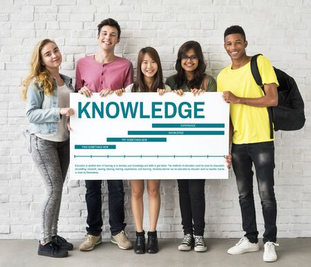 learning new skills: Learning Knowledge Education Study Concept Stock Photo