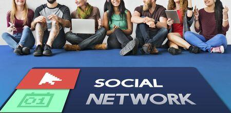 digital device: Browser Social Network Online Concept