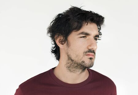 Muž Casual Portrait fotografie Concept Reklamní fotografie