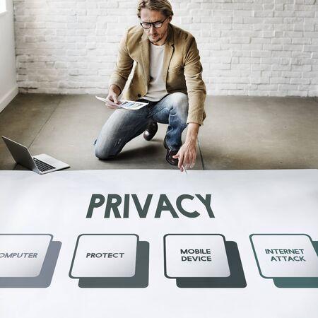 dispensation: Authorization Permission Network Security System Concept Stock Photo