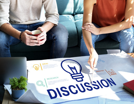 People with discussion concept Stock Photo - 111781594