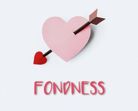 Proposal Passion Fondness Endearment Cupid Concept Stock Photo