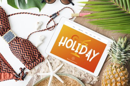 necessities: Holiday Chill Out RElaxation Getaway from It All Concept