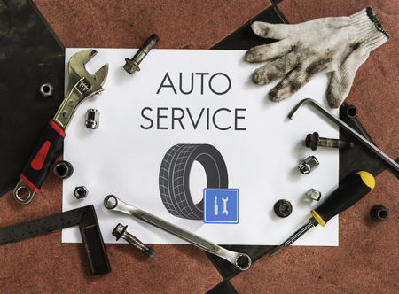 Automotive Car Mechanic Garage Service Concept