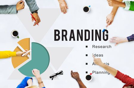 Business Perfomance Branding Strategy Concept