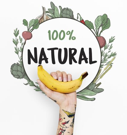 lady hand: Fresh nutritious green natural heathy