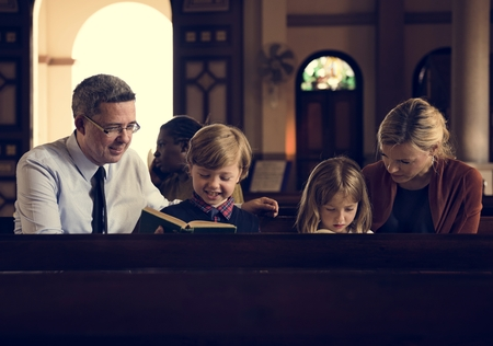 Church People Believe Faith Religious Stock Photo - 71550937