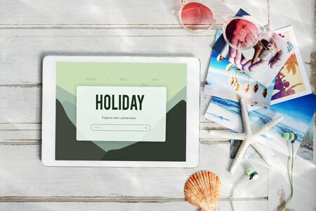 adventure holiday: Adventure Holiday Journey Trip Concept