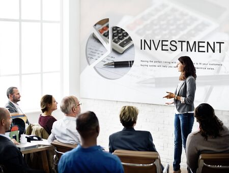 place to learn: Economy Commerce Money Investment Concept
