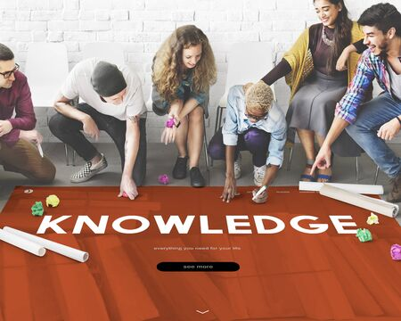 place to learn: Distance learning online webpage interface Stock Photo