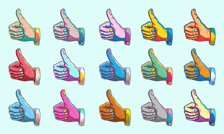 Agreemement Thumbs up Symbol Concept