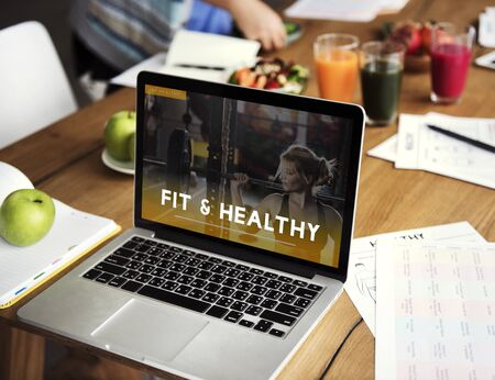 get a workout: Fitness Healthy Lifestyle Wellbeing Activity Concept