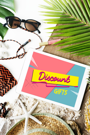 Online Shopping Cart E-Commers Concept Stock Photo