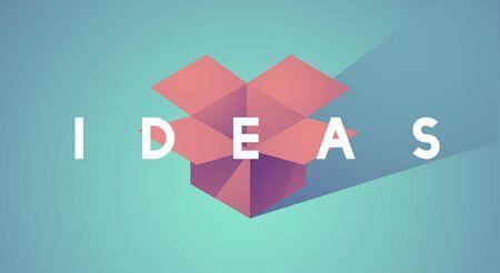Ideas Mission Vision Vector Illustration