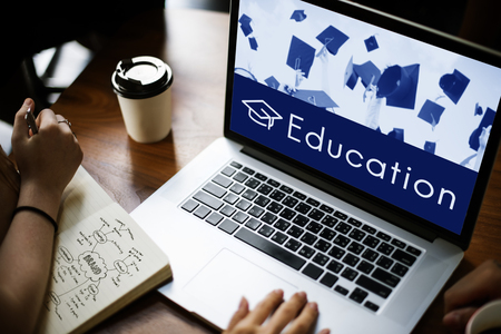 Académie Curriculum de certification scolaire Icône Banque d'images