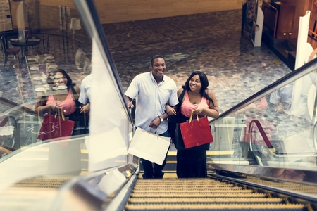 buying: Shopping Buying Selling Spending Discount Stock Photo