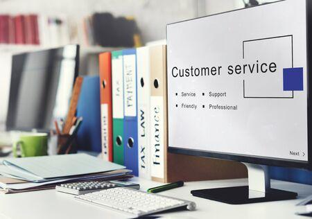 consumer: Customer Service Support Consumer Concept