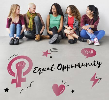 equal opportunity: Feminism equality confidence women right