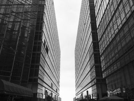建物ビジネス都市構築ジオメトリ 写真素材 - 73222921