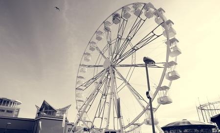 ferriswheel: Ferris Wheel Festival Amusement Carnival Leisure