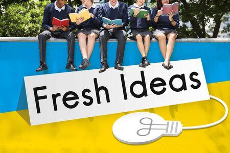 skills diversity: Fresh Ideas Imagination Inspiration Concept