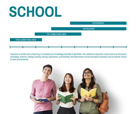 skills diversity: Learning Knowledge Education Study Concept Stock Photo